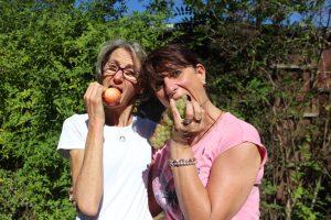 Corinne Chauveau dominique Hunka Gely Yoga mono diet