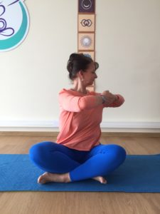 Corinne Chauveau Yoga des Hormones Saint Esteve Be HappYoga
