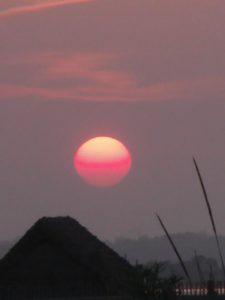 coucher du soleil canet