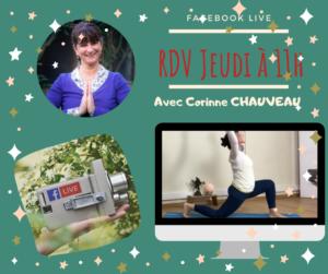 Facebook live jeudi yoga gratuit