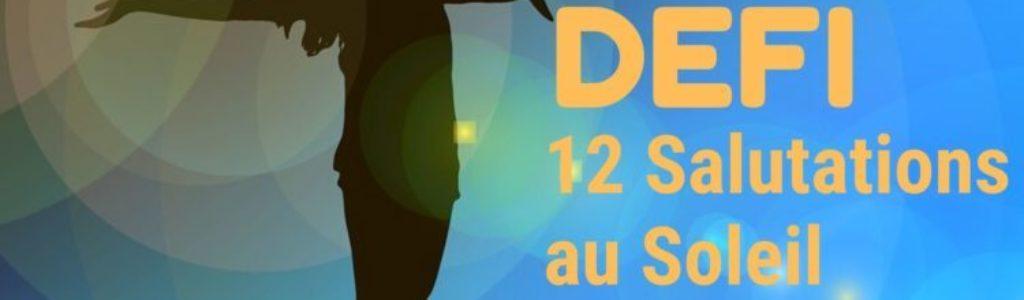Be HappYoga TV: Défi 12 Salutations au Soleil
