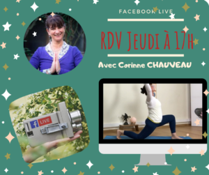 Facebook live be HappYoga TV