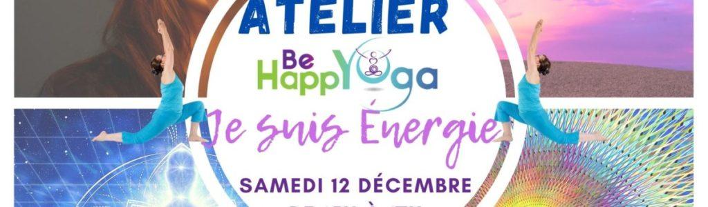 """ATELIER YOGA EN LIGNE : """"Je suis Énergie"""""""