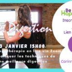 Atelier Yoga en ligne : Bien digérer grâce au Yoga