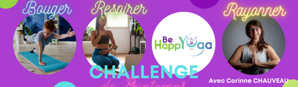 CHALLENGE DE PRINTEMPS BE HAPPYOGA
