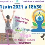 Journée Internationale du Yoga 2021: cours offert 21 Juin 18h30