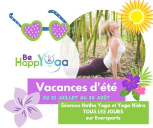 Vacances été 2021 Yoga en ligne