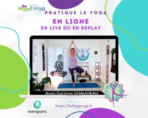 Be happYoga avec Corinne Chauveau yoga en ligne