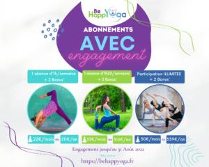 abonnements yoga en ligne annuels be happyoga